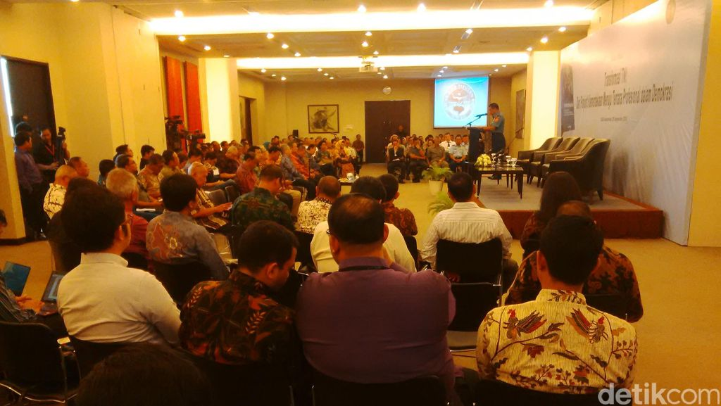 SBY, Wiranto dan Andi Widjajanto Hadiri Bedah Buku Transformasi TNI