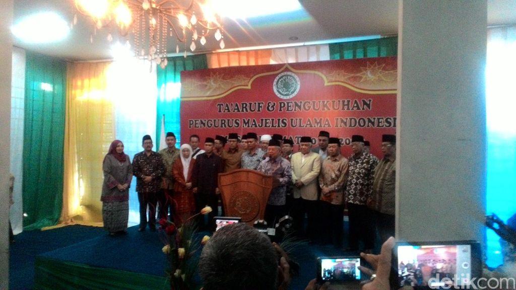 Maruf Amin Kukuhkan Pengurus Baru MUI Periode 2015-2020