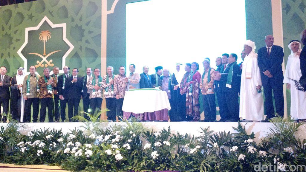 Para Menteri hingga Prabowo Hadiri Peringatan Hari Nasional Arab Saudi