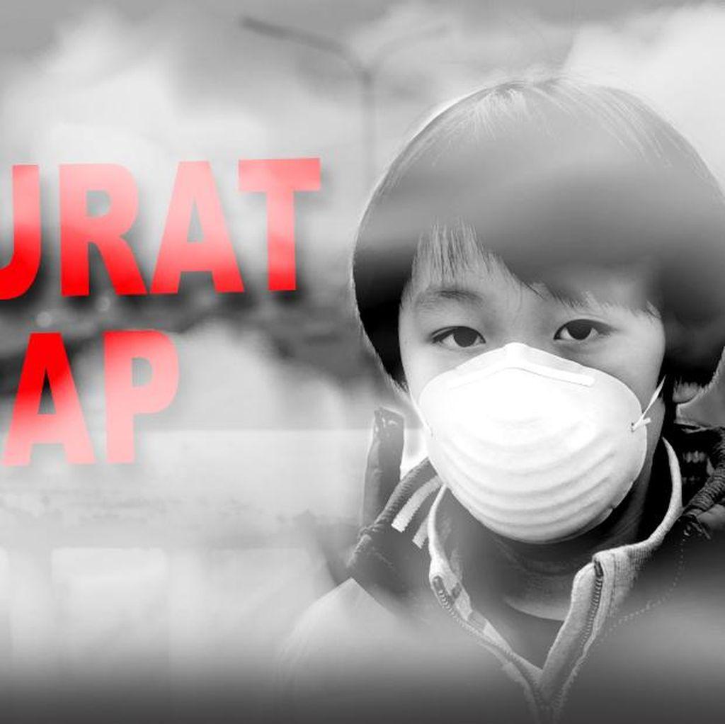 BNPB: Sebulan Berlalu, Kabut Asap di Sumatera Selatan Meluas