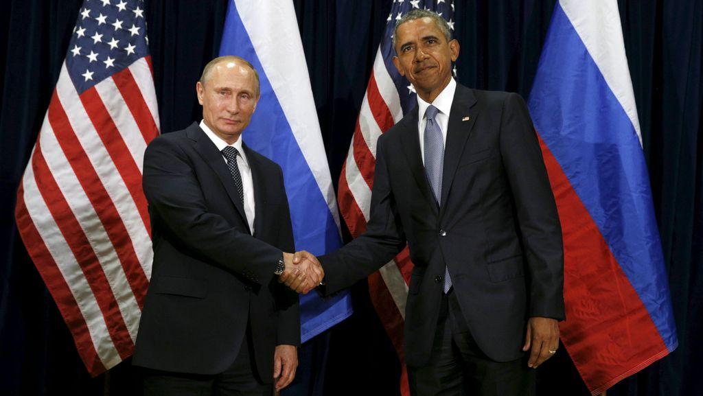 Obama dan Putin Bahas Krisis Suriah, Berbeda Pendapat Soal Assad