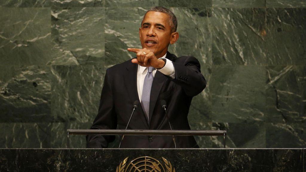 Obama: ISIS Bisa Dikalahkan Jika Presiden Suriah Mundur