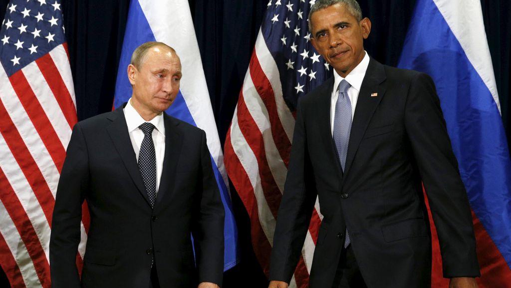 Perang Argumen Antara Obama dan Putin dalam Sidang Umum PBB