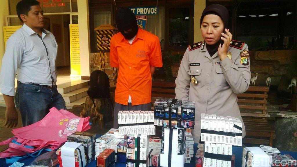 Polsek Jagakarsa Tangkap Spesialis Maling Rokok