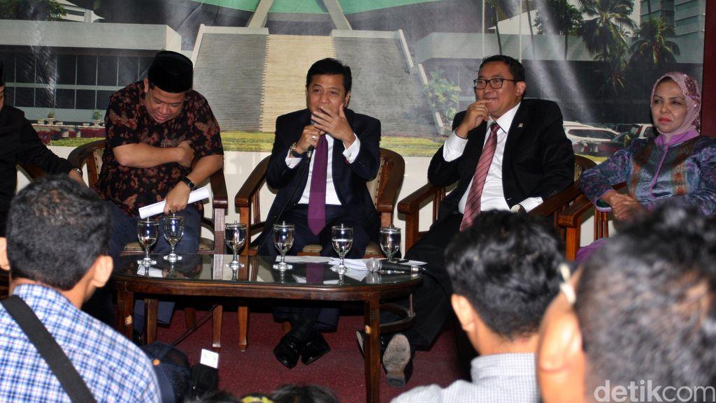 Beda Sikap Fadli Zon dan Prabowo Soal Kasus Papa Minta Saham