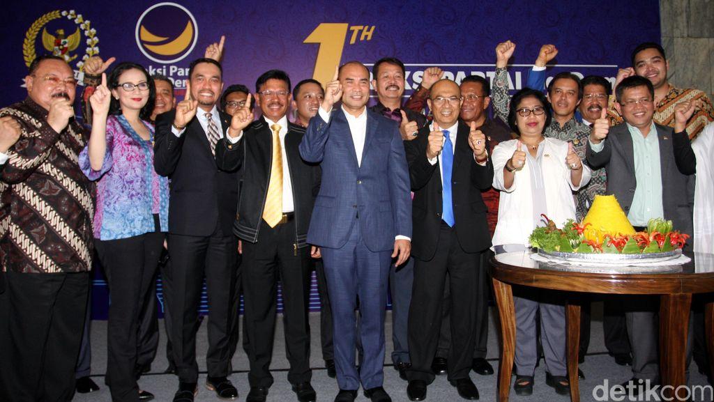NasDem Setuju DPR Lanjutkan Fit And Proper Test 8 Capim KPK