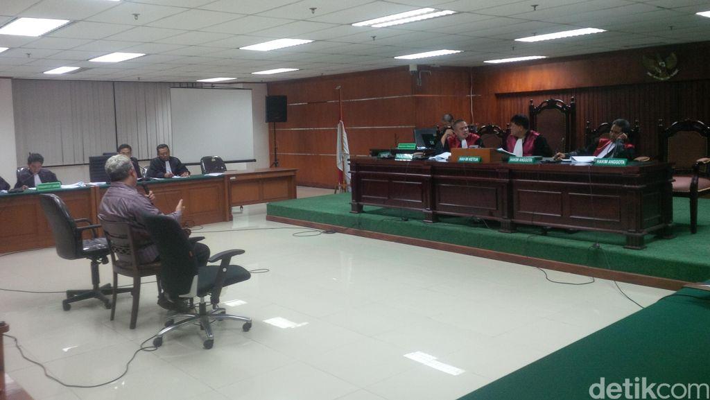 Hakim Amir Fauzi Terima Duit USD 5 Ribu dari OC Kaligis Lewat Gary