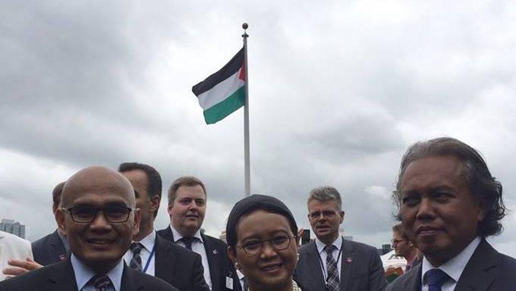 Menlu: Indonesia Segera Buka Konsul Kehormatan di Ramallah