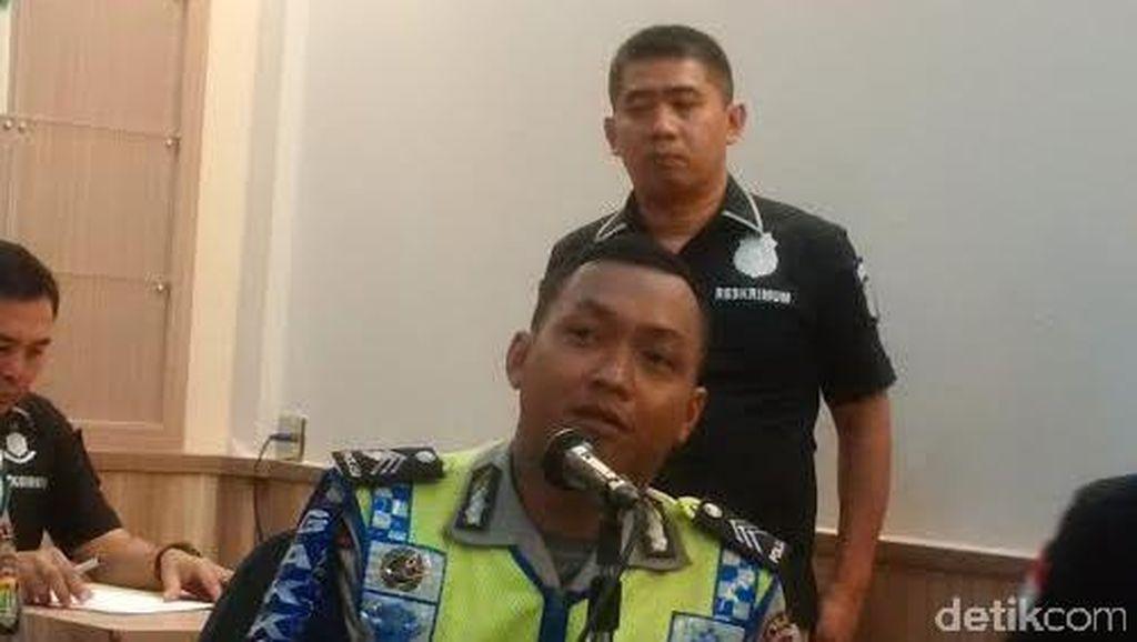 Cerita Brigadir Adam Bergelantungan di Taksi yang Hendak Ditilang