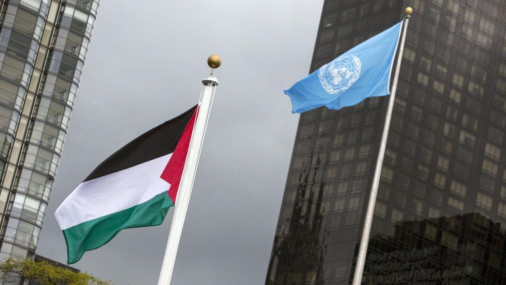Bendera Palestina di PBB, Jokowi: Alhamdulillah! Semoga Segera Merdeka