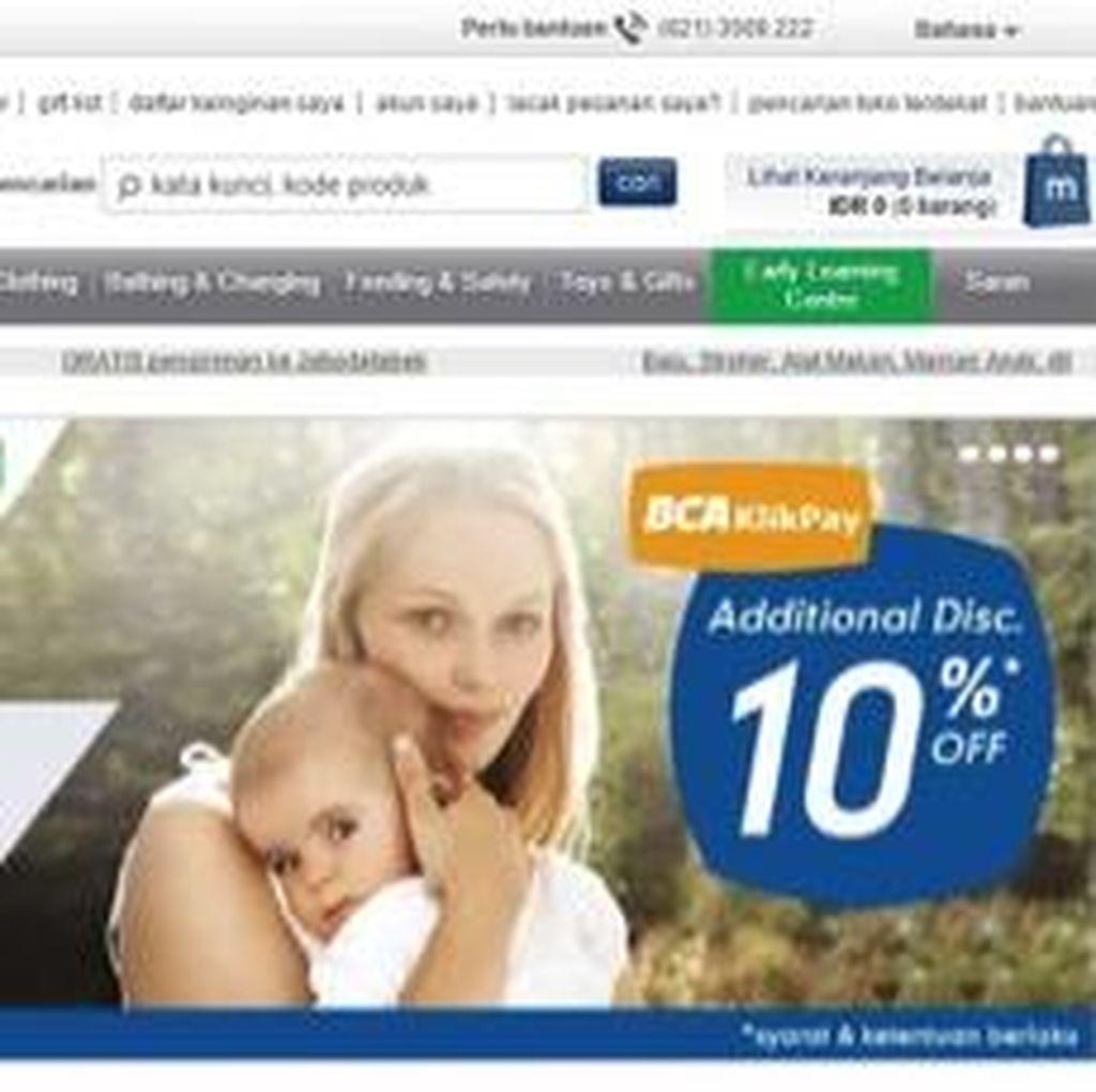 Terjun di e-Commerce, Mothercare Pilih Sistem Pembayaran Online Paling Praktis