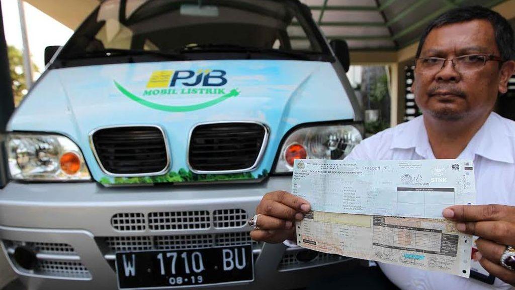 Ini Dia, Mobil Listrik Pertama di Indonesia yang Miliki Pelat dan STNK