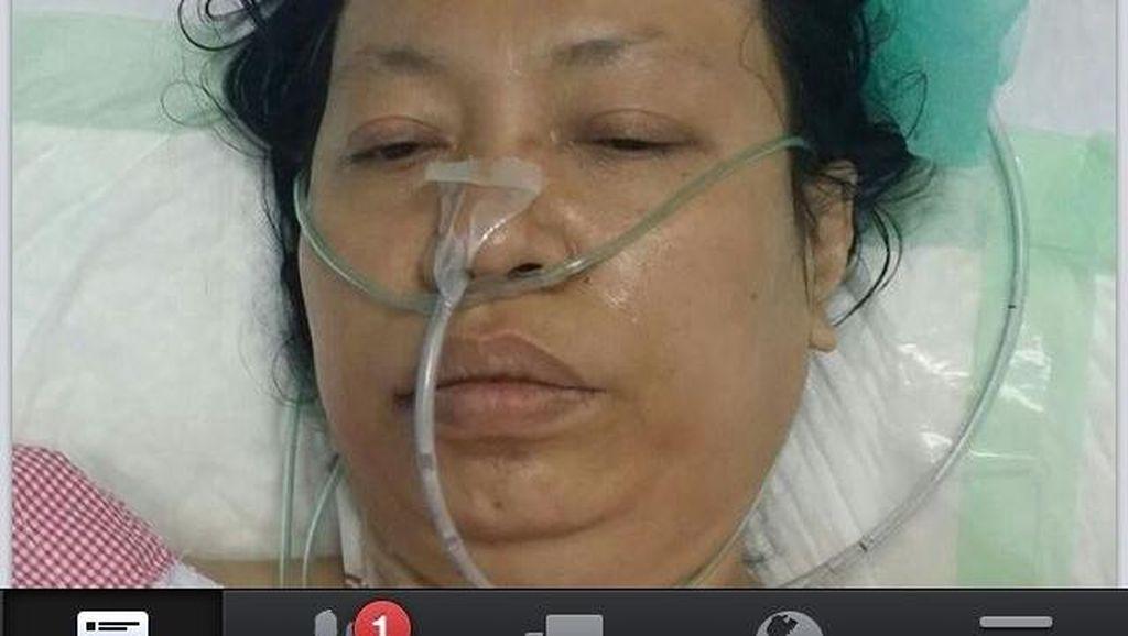 Foto Jemaah Haji Wanita Terbaring Sakit Bukan dari RI, Tapi Burma