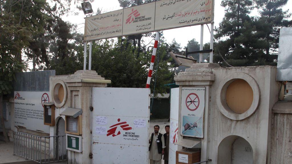 Salah Bombardir Rumah Sakit di Afghanistan, 16 Tentara AS Dikenai Sanksi