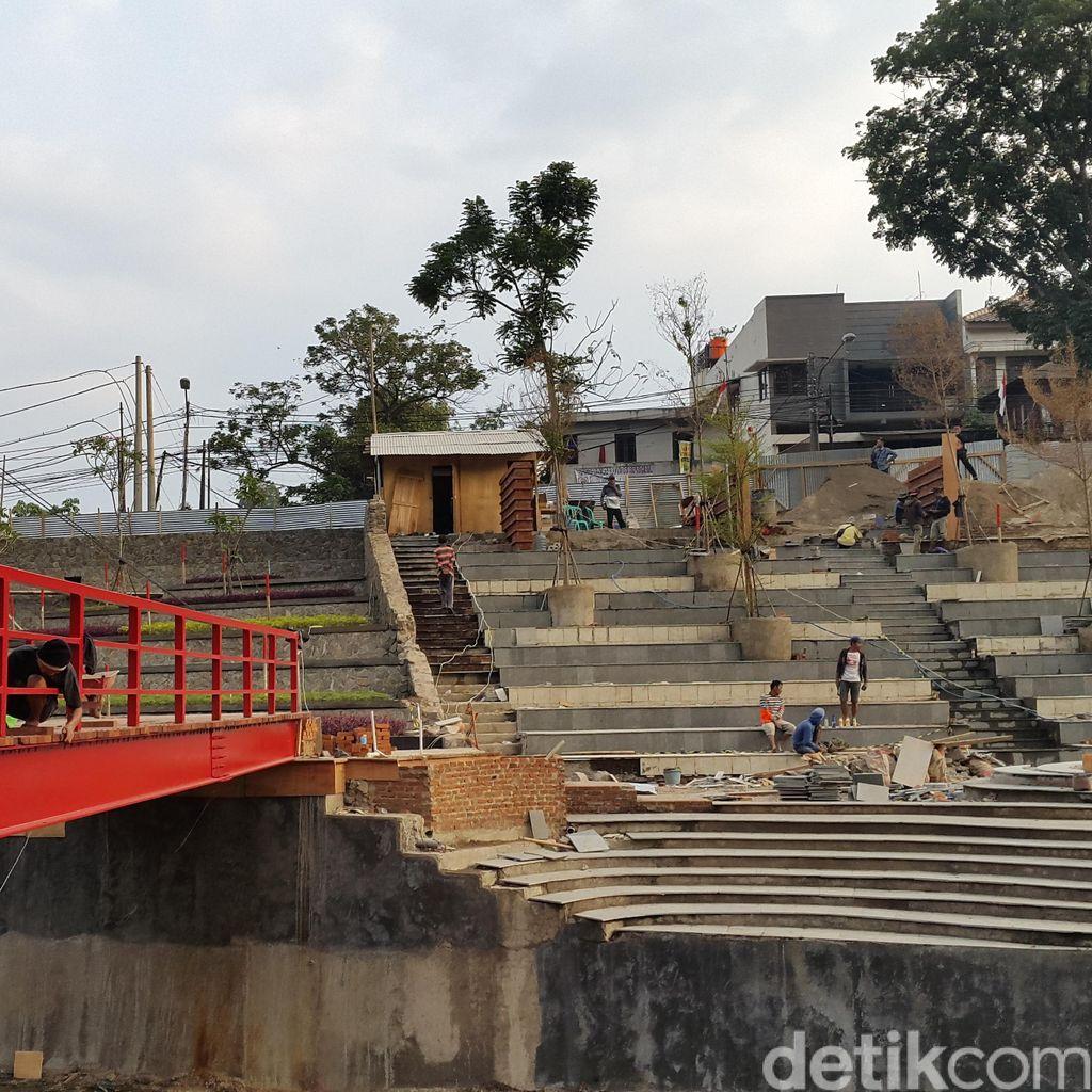 Seperti ini Progress Teras Cikapundung, Ruang Publik Baru di Bandung