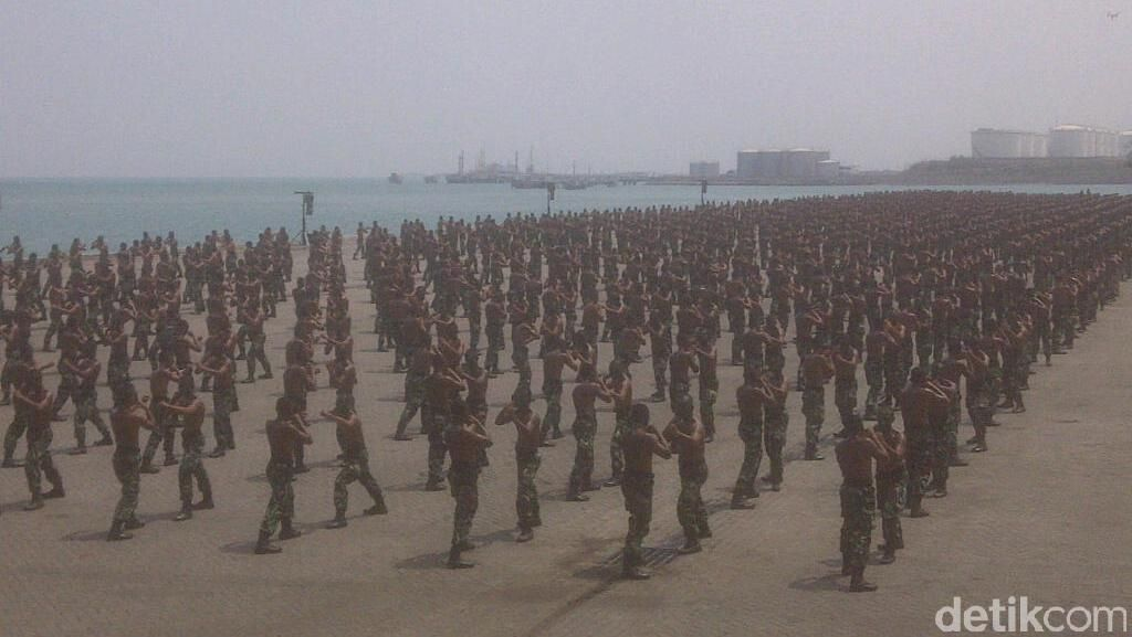 Gladi Bersih HUT ke-70 TNI Usai, Ini Evaluasi Panglima TNI