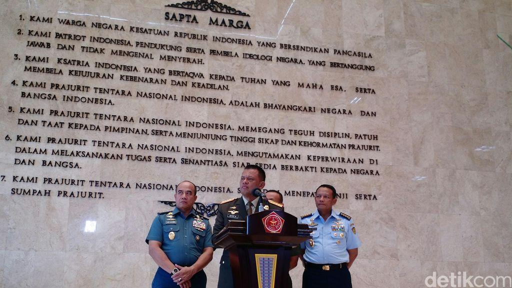 TNI Akan Gelar Demonstrasi Pertempuran Laut dan Udara Pakai Peluru Tajam