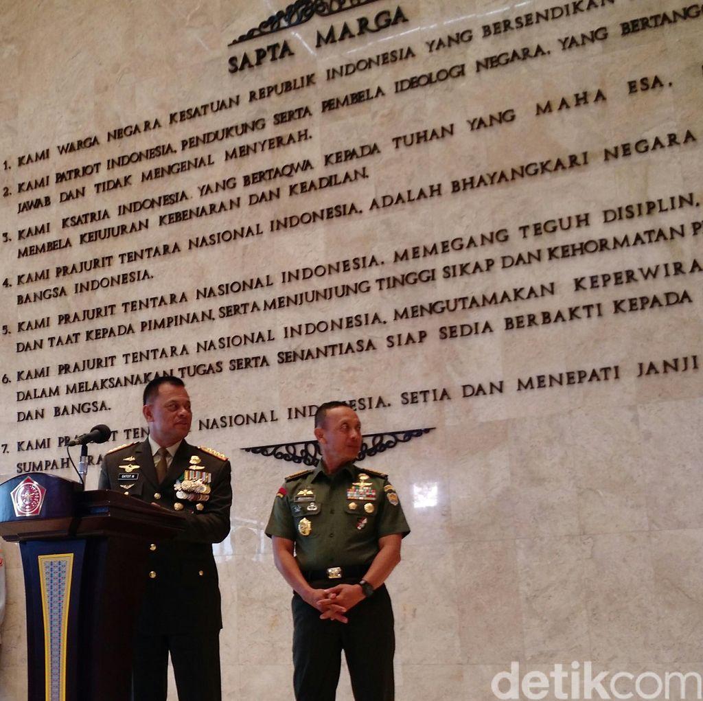 HUT Ke-70 TNI, Panglima: TNI Bertekad Bersama Rakyat