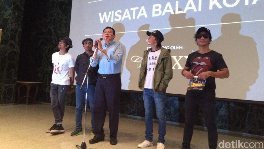 Ahok Ingin Kota Tua Jakarta Jadi Pusat Orang Bikin Film