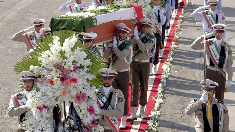 114 Jenazah Korban Tragedi Mina Tiba di Iran