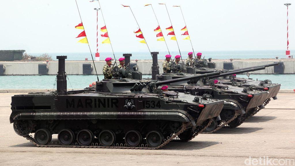 HUT ke-70 TNI, DPR Dukung Modernisasi Alutsista