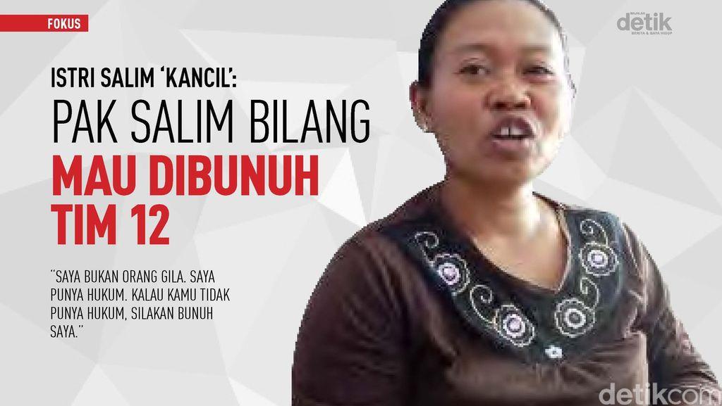 Istri: Salim Kancil Sakit Hati, Mau Berjuang Seperti Bung Karno