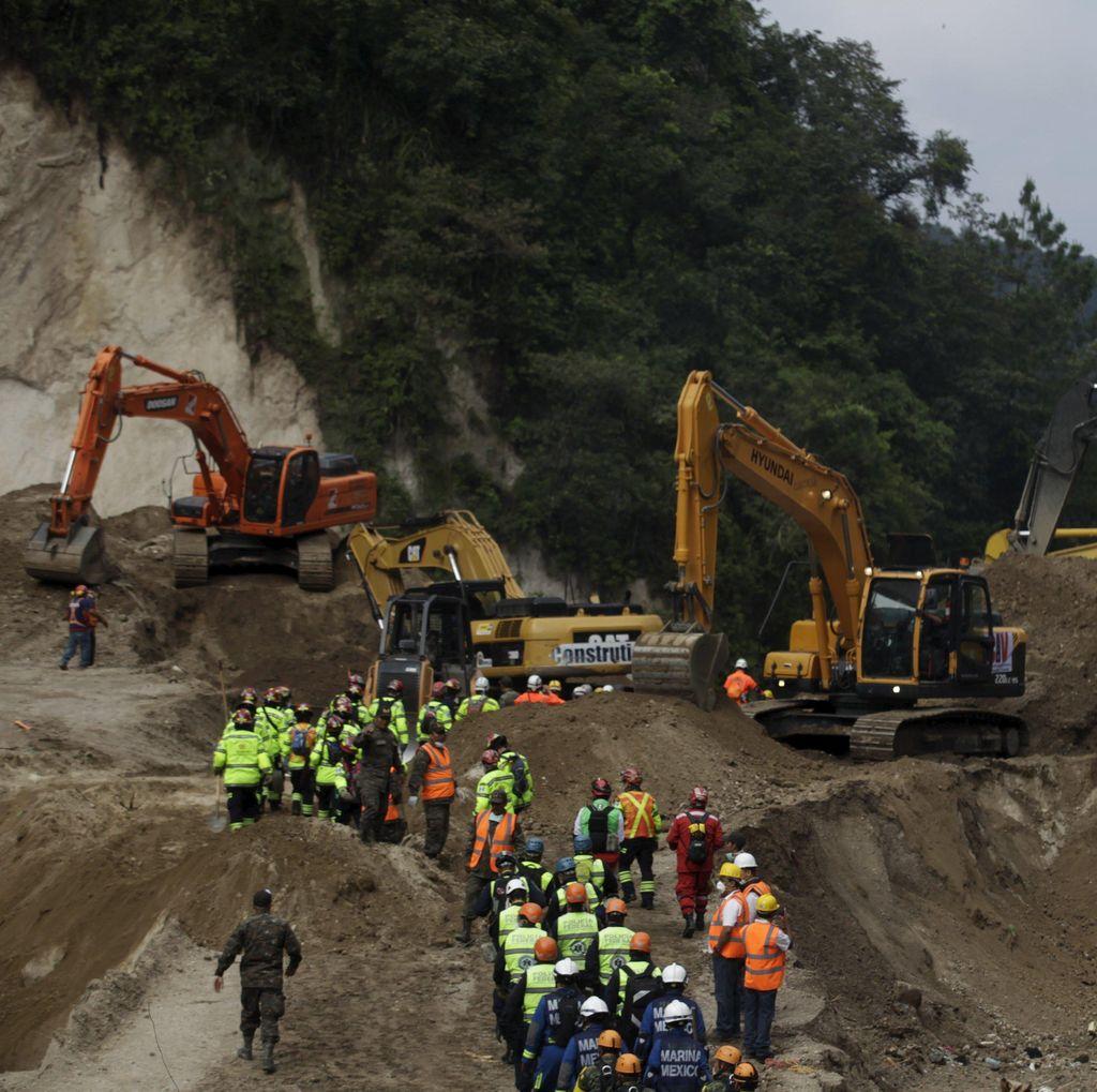 237 Orang Tewas Akibat Longsor Guatemala, Pencarian Terus Dilakukan