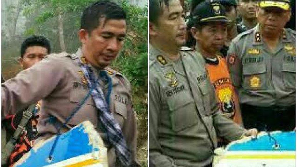 Aksi AKBP Adex Yudiswan Terjun ke Hutan Latimojong Evakuasi Aviastar