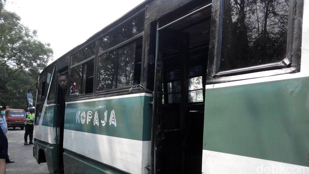 Polisi: Kopaja yang Tabrak Pejalan Kaki di Warung Buncit Kurang Hati-hati