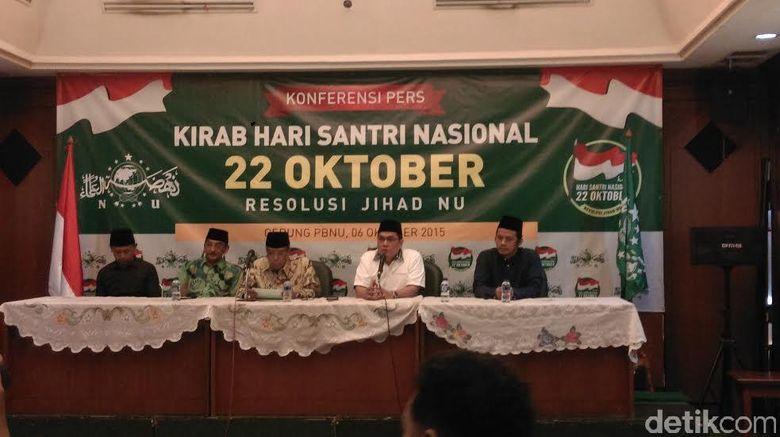 NU Memimpin 12 Ormas Islam Dorong Pemerintah Tetapkan 22 Oktober Jadi Hari Santri