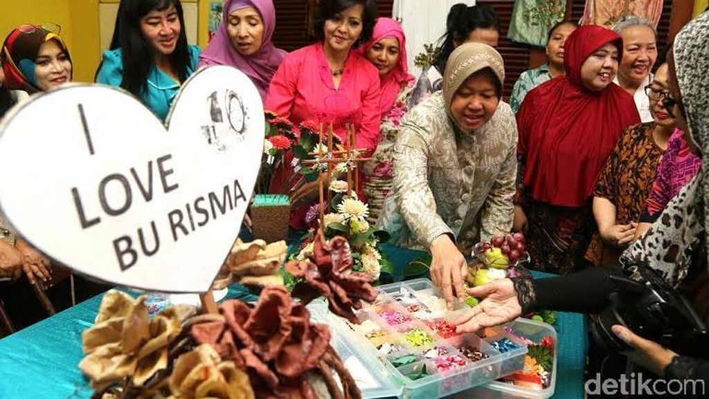 Pesan Penting Risma untuk Pelaku Industri Kreatif/UMKM di Surabaya