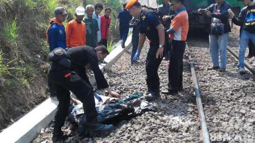 Perempuan Tertabrak KA Majapahit di Blitar, Perjalanan Tertahan 15 Menit
