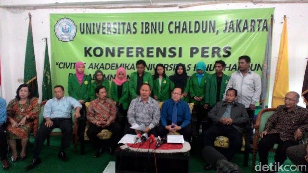 Universitas Ibnu Chaldun Minta Dikti Cabut Status Nonaktif