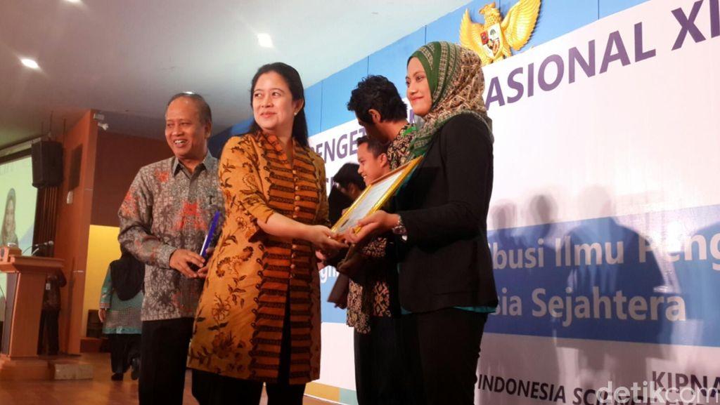 Buka Kongres Ilmu Pengetahuan, Puan Ingin Indonesia Punya Banyak Peneliti