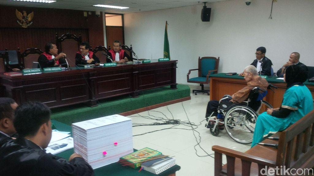 Syaiful Kena Stroke Berat, Pengacara Minta Hakim Tipikor Hentikan Sidang