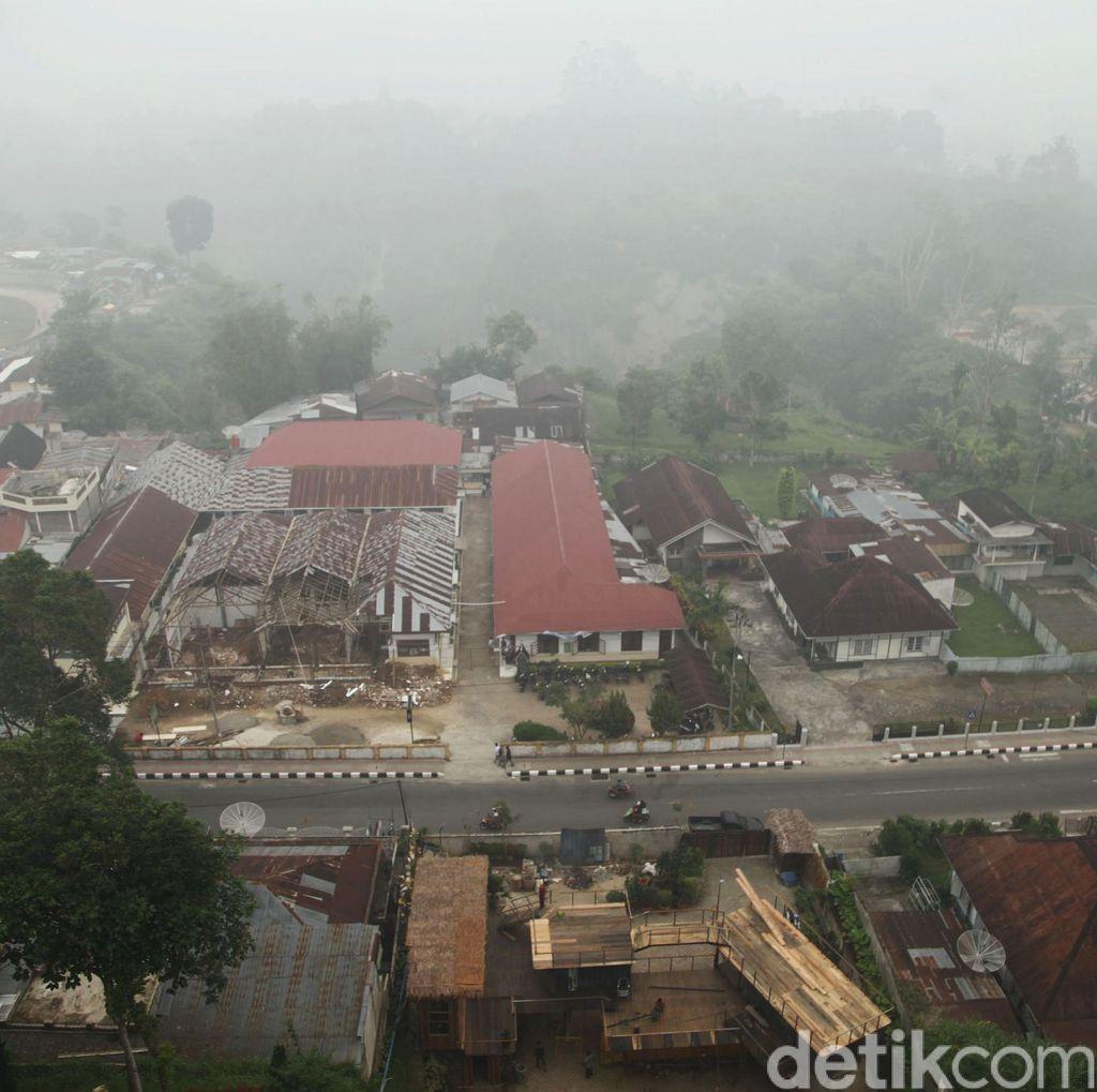 Status Darurat Asap di Riau Diperpanjang Sepekan Lagi