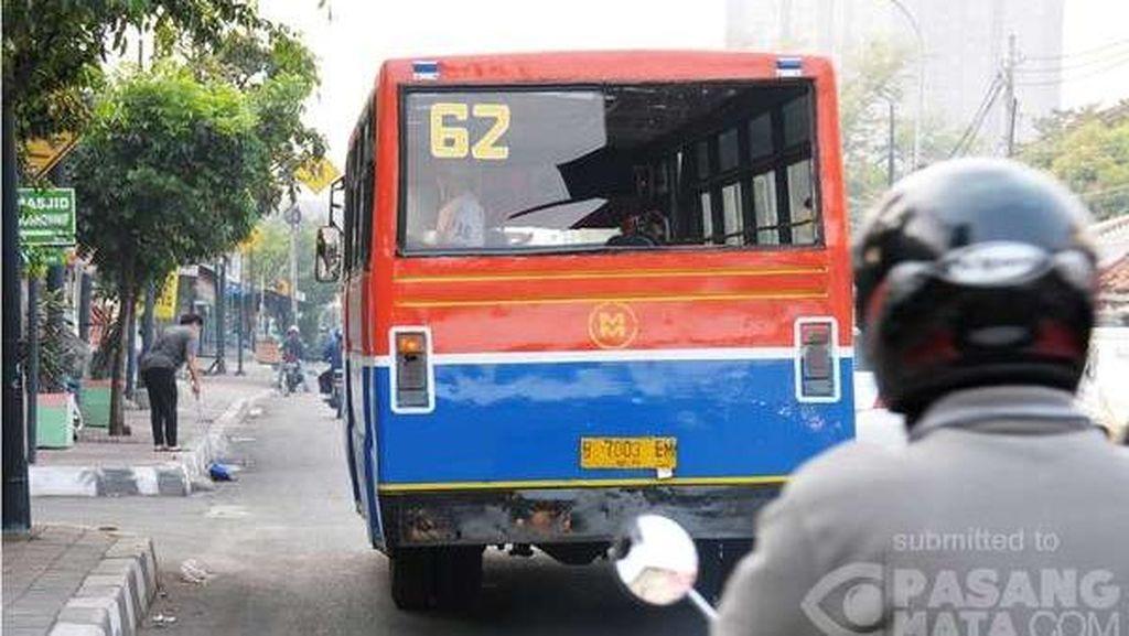 Menunggu Sikap Tegas Dishub DKI Jakarta Kandangkan Angkutan Umum Bobrok