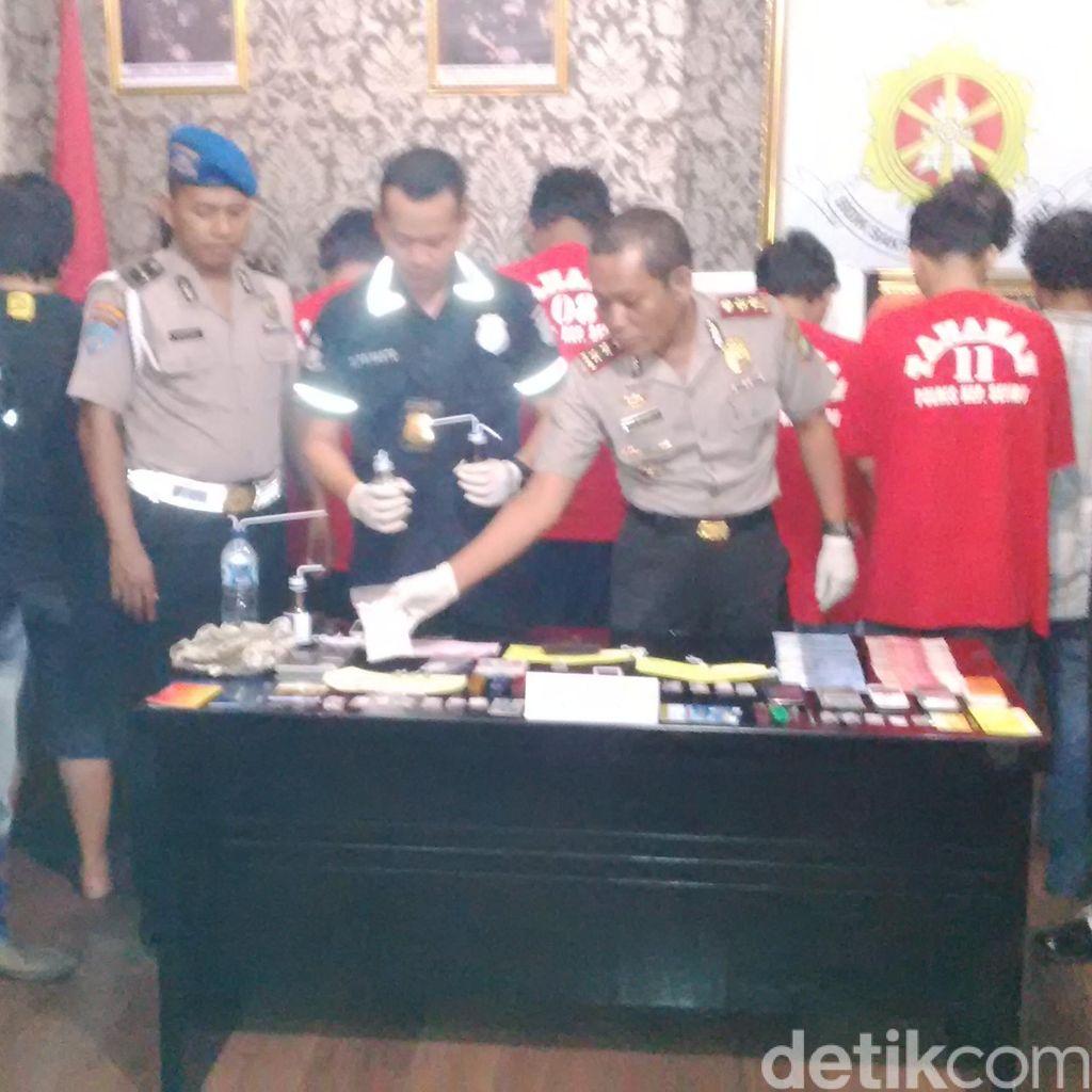 10 Pemasok Narkotika ke Kepulauan Seribu Dibekuk Polisi