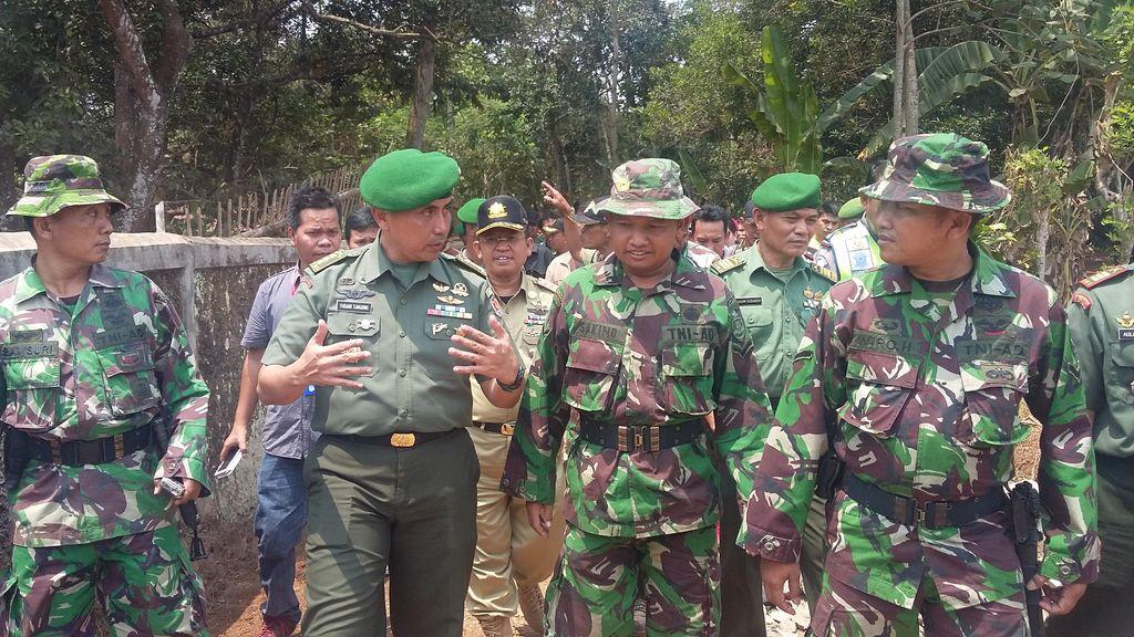 Bangun Jalan Desa 1,3 KM di Subang, TNI Kucurkan Rp 479 Juta