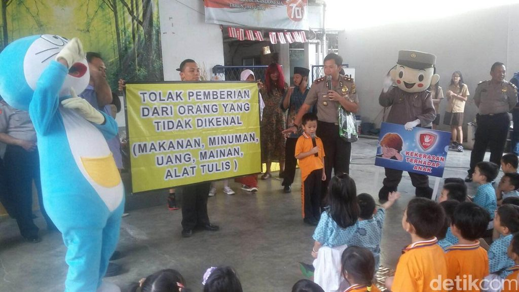 Antisipasi Kejahatan Anak, Polisi Gelar Edukasi dalam Bentuk Drama