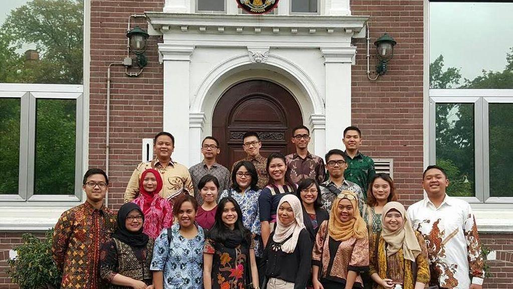 20 Diplomat Muda RI Ditempa di Belanda