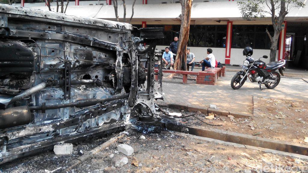Tawuran di Universitas Pancasila Diduga Dipicu Aksi Geber-geber Knalpot
