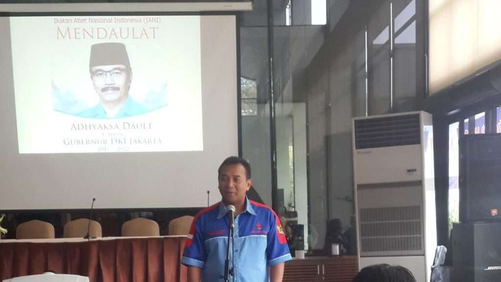 Seratusan Atlet Nasional dan Artis Gaek Daulat Adhyaksa Jadi Cagub DKI