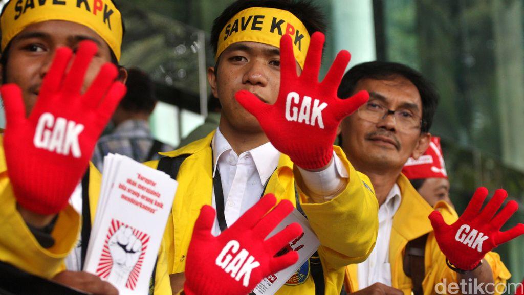 Golkar Kubu Agung: Jokowi, Jangan Dengarkan Pihak yang Mau Revisi UU KPK!