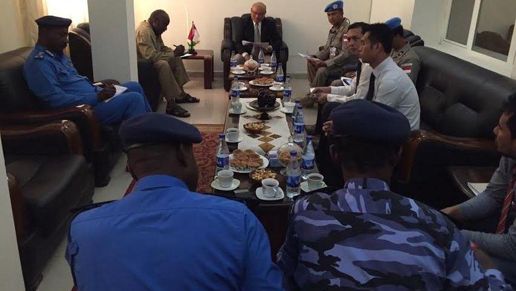 Polisi Sudan Minta Ilmu dari Polri