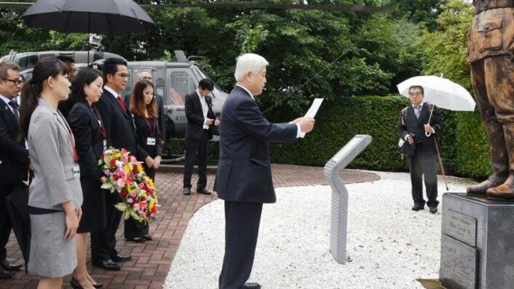 Dubes Yusron Bercerita Tentang Patung Sudirman di Dephan Jepang