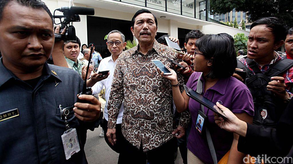 Menko Luhut Kumpulkan Para Menteri Bahas Pembangunan Papua