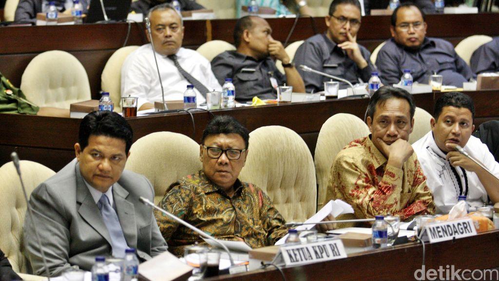 Komisi II Minta KPU Perbaiki Rancangan Peraturan Pilkada Calon Tunggal
