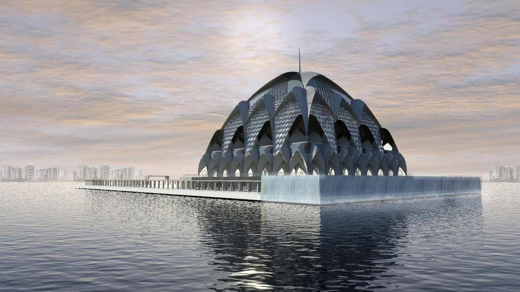 Dewan Jabar Dukung Pembangunan Masjid Terapung yang Didesain Ridwan Kamil