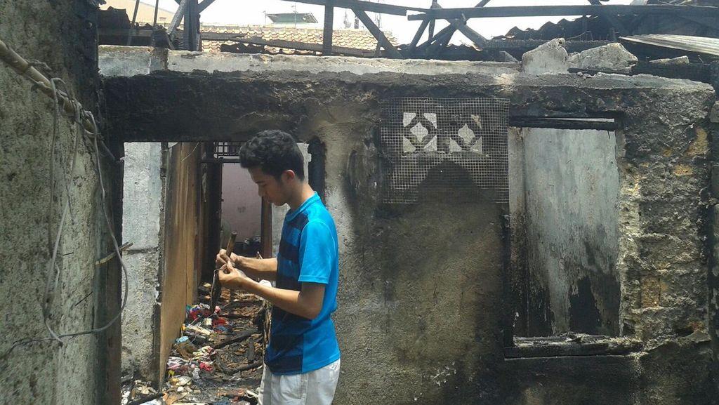 Gara-gara Servis Tabung Gas Mandiri, Rumah di Ciledug Terbakar
